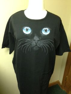 aed8c1c470 We think that black cats are great. Order your black cat nightshirt from  www.idontdomornings.com