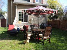 40 Enchanting Outdoor Patio Decor Ideas with Patio Umbrellas Target 24
