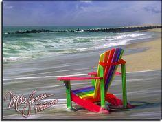 Chair  Island Beach State Park.