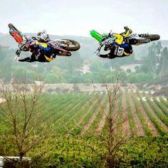 Motocross - Robbie and Tyler ! The dc boyz. Whip it Wednesday fellas