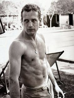 Paul Newman on the set of Exodus. 1960. Photographer: Unknown