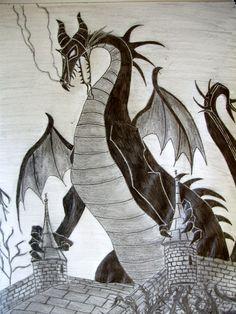 Maleficent Dragon by Elendar89.deviantart.com on @deviantART