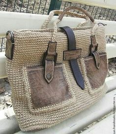 """New Cheap Bags. The location where building and construction meets style, beaded crochet is the act of using beads to decorate crocheted products. """"Crochet"""" is derived fro Crochet Shell Stitch, Crochet Tote, Crochet Handbags, Crochet Purses, Macrame Bag, Purse Patterns, Knitting Patterns, Crochet Patterns, Knitted Bags"""