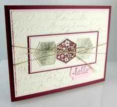 Stampin' Up! Six-Sided Sampler stamp set