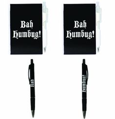 Bah humbug pen for that guy/gal in the office -- you know the one........