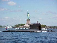 NL Onderzeeër in New York