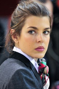 Charlotte Marie Pomeline Casiraghi - maternal granddaughter of Grace Kelly and Prince Rainier III.
