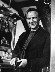 Marlon Brando in a publicity still for ONE EYED JACKS (1961)