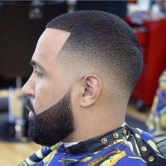 Black Boys Haircuts, Cool Mens Haircuts, Black Men Hairstyles, Buzz Cut Hairstyles, Boy Hairstyles, Beard Haircut, Fade Haircut, Beard Styles For Men, Hair And Beard Styles