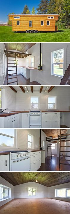 The Loft Edition is Mint Tiny Homes' largest tiny house with trailers available from 24′ to 30′. by Jinx62