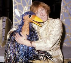Rod Hull & Emu.....i love them and that emu caused havoc....lol