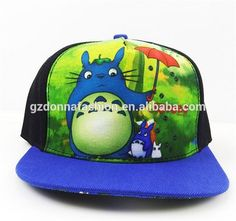 The New Anime Peripheral Flat Along The Hip Hop Dance Hat My Neighbor Totoro Baseball Cap Topi Qiu Dong, View cartoon cap, donnatoyfirm Product Details from Guangzhou Donna Fashion Accessory Co., Ltd. on Alibaba.com