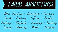 FALSOS ANGLICISMOS que usamos en español: zapping, puenting, etc.