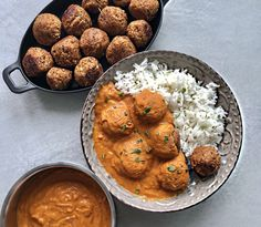 Paradicsomos Babfasírt Fitt, Vegan Recipes, Curry, Paleo, Meals, Cooking, Ethnic Recipes, Kitchen, Bullet Journal