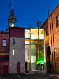 Fitzroy Town Hall Universal Access Portal   Architecture Matters, Melbourne
