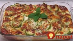Zucchini and cheese casserole Supper Recipes, My Recipes, Fun Cooking, Kids Meals, Breakfast Recipes, Side Dishes, Vegetarian Recipes, Vegas, Food And Drink