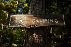 No summer is complete without a camping trip in Michigan's Upper Penisula.