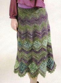 Pretta Crochet: Saias Variadas