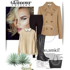 Sem título #84 by adralbi on Polyvore featuring moda, Chicnova Fashion, STELLA McCARTNEY, MANGO, MICHAEL Michael Kors, Jim Shore and Agave