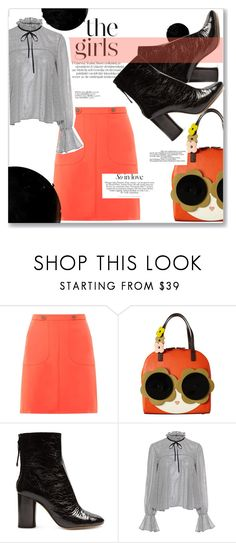 """""""Untitled #1194"""" by sugarmoonmama ❤ liked on Polyvore featuring Dorothy Perkins, Orla Kiely, Isabel Marant, Green Girls and Saloni"""