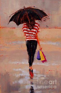 Shoe shopping by Laura Lee Zanghetti
