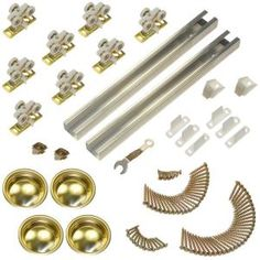 111sd Series 96 In. Track And Hardware Set For 4-door Bypass Doors