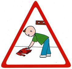 Attention ramasser ce qui traine par terre