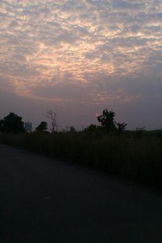 Sunset in khopoli...India