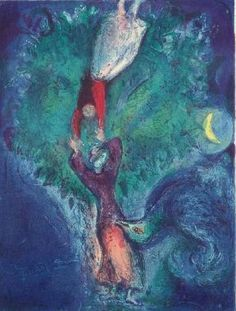chagall lovers in the moonlight - Google Search