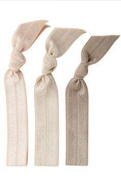 pearl hair ties