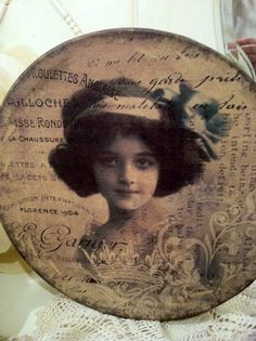 French Hat Box from Paris