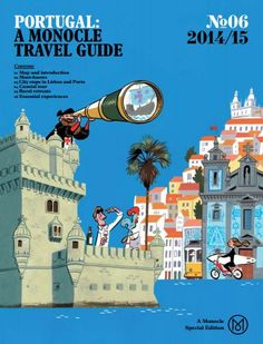 Monocle magazine is highlighting Portugal in a 36-page pullout section of its December-January edition