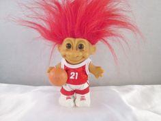 Russ Troll Doll Basketball Player by creationsbycaradonna on Etsy