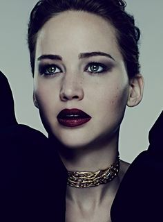 Jennifer Lawrence, by Ben Hassett for Harper's Bazaar