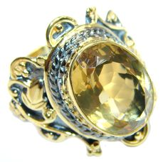 Really Beautiful Gold-plated Silver ring.