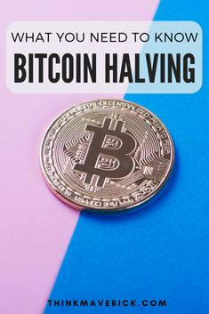 Bitcoin Halving: Everything You Need to Know - ThinkMaverick - My Personal Journey through Entrepreneurship Buy Btc, Bitcoin Mining Software, Bitcoin Currency, Best Crypto, Bitcoin Business, Bitcoin Transaction, Get More Followers, Investment Advice, Bitcoin Cryptocurrency