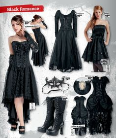 Ropa Gótica #Goth #Gotico #Gothic vestido largo EMP Online España Catálogo Verano 2014 • Tienda Rock Heavy Metal Gótica y Ropa Alternativa > emp.me/6mn