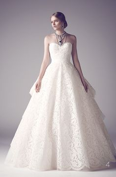 nothing less than royal for your big day: Mohammed Ashi's Fall 2014 Couture Bridal Gowns #weddingdream123