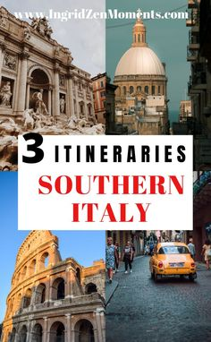The best one week itinerary in Southern Italy. Where to go in order to make the best out of your one week in Southern Italy. Alberobello, Puglia, the Amalfi Coast, Rome, and much more! | travel to Italy | travel italy tips | Italy travel guide | trip to Italy | vacation Italy Italy Vacation, Italy Travel, Italy Destinations, Southern Italy, Visit Italy, Sardinia, Train Travel, Amalfi Coast, Sicily