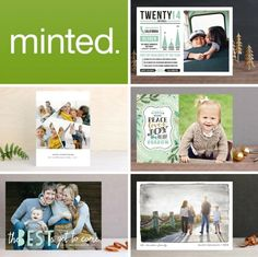 Win a credit to Minted for your holiday cards - and vote on what you think I should order! #giveaway #sponsored