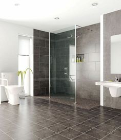 Does your home need a bathroom remodel? Give your bathroom design a boost with a little planning and our inspirational bathroom remodel ideas. Whether you're looking for bathroom remodeling ideas or bathroom pictures to help Diy Bathroom Vanity, Wooden Bathroom, Small Bathroom, Bathroom Ideas, Bathroom Cabinets, Family Bathroom, Vanity Sink, Bath Ideas, Handicap Bathroom