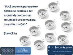 Erros e uma nova direção, por Steve Jobs