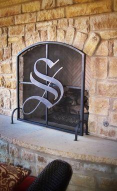 667cc1fc49c Custom Made Metal Fireplace Screen Fireplace Screens With Doors