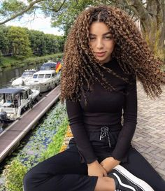 Lace Frontal Wigs Long Blonde Curly Wig Natural Afro Wigs For Sale Best Women Curly Wigs Curly Hair Alchemist Afro Wigs, Curly Wigs, Blonde Curly Wig, Curly Hair Styles, Natural Hair Styles, Black Women Hairstyles, Hair Lengths, Hair Trends, Naturally Curly