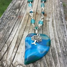 Hey, I found this really awesome Etsy listing at https://www.etsy.com/listing/469084123/blue-agate-heart-blue-necklace-agate