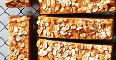 Try this banana, yoghurt and apple muffin slice for a mid-morning snack that will keep you going until lunch time. Healthy Lunches For Kids, Kids Meals, Banana Yoghurt Cake, Banana Bread, Chocolate Caramel Slice, Lunch Box Recipes, Lunchbox Ideas, Tray Bakes, Afternoon Tea