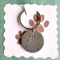 Hey, I found this really awesome Etsy listing at https://www.etsy.com/listing/231281805/personalized-pet-loss-rememberance