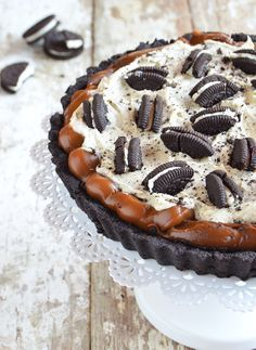 Tarta Oreo ok Oreo Cake, Mini Cheesecakes, Cake Shop, Savoury Cake, Love Food, Sweet Recipes, Sweet Treats, Dessert Recipes, Oreo Dessert
