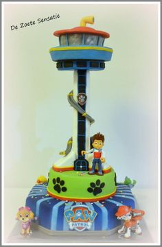 PawPatrol Lookout Tower - Cake by claudia