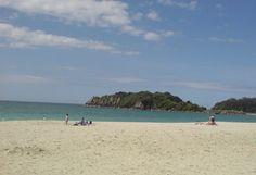 The beach at Mount Maunganui, Tauranga.
